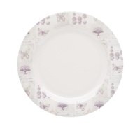 Coolmovers Butterfly Lane Pack of 4 Melamine 25cm Dinner Plates