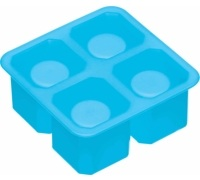 Bar Craft Silicone Ice Shot Glass Mould