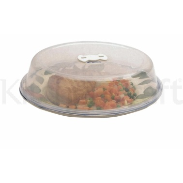 Kitchen Craft Microwave 26cm Plate Cover with Air Vent