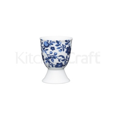 Kitchen Craft Traditional Floral Porcelain Egg Cup