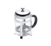 Le'Xpress 4 Cup Chrome Plated Cafetiere