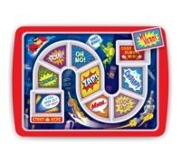 Fred Dinner Winner Super Hero Kid's Dinner Tray