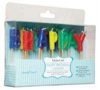 Sweetly Does It Happy Birthday Cake Candles