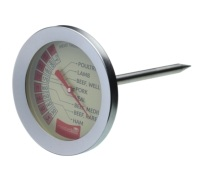 Master Class Large Stainless Steel Meat Thermometer
