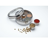 World of Flavours Indian Stainless Steel Masala Dabba