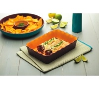 World of Flavours Mexican Ceramic Burrito Dish