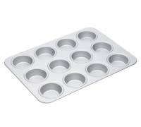 Master Class Silver Anodised 42cm Muffin Pan