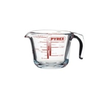 KitchenCraft Glass 250ml (1/2 Pint) Measuring Jug