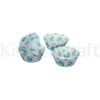 Sweetly Does It Pack of 60 Baby Boy Cupcake Cases