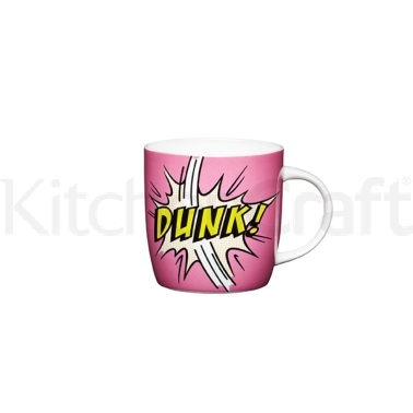 KitchenCraft Comic Strip Fine Bone China