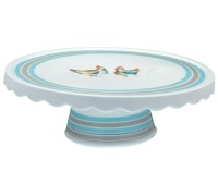 Hen House Ceramic Cake Stand