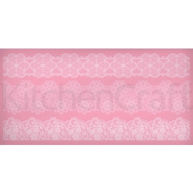 Sweetly Does It Silicone Medium Lace Icing Mould