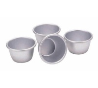 Set di 4 mini stampi per pudding 7,5cm