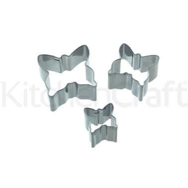 Sweetly Does It Set of 3 Butterly Fondant Cutters