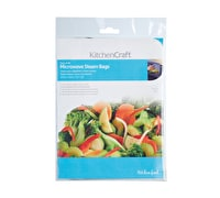 KitchenCraft Pack of 30 Microwave Steam Bags