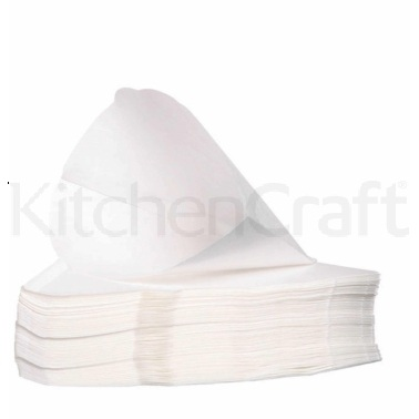 KitchenCraft One Hundred Bleached Size Four Coffee Filter Papers