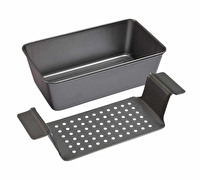 Chicago Metallic Non-Stick 2lb / 900g Loaf Pan Set