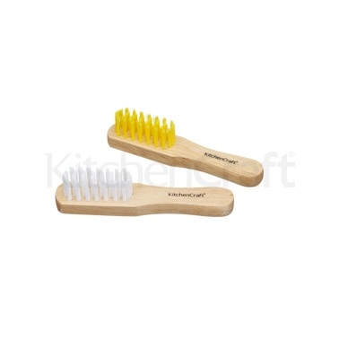 Kitchen Craft Set of 2 Vegetable Brushes