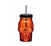KitchenCraft Spookily Does It 450ml Drinks Jar