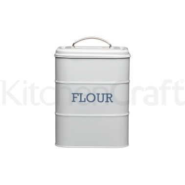 Living Nostalgia French Grey Flour Tin