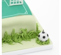 Sweetly Does It Football Themed Candles