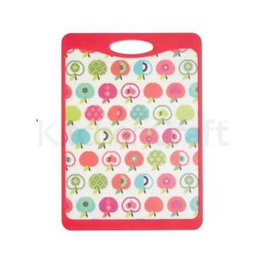 KitchenCraft Medium An Apple A Day Design Cut & Serve Reversible Board