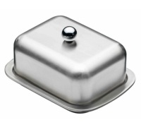 Master Class Deep Double Walled Insulated Covered Butter Dish