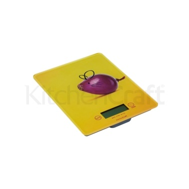 Kitchen Craft Electronic Mouse Design Add'n'Weigh 5kg / 11lb Platform Scales