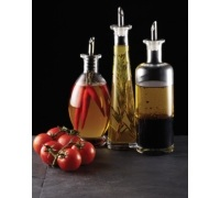 KitchenCraft World of Flavours Italian Glass Bellied Oil Bottle