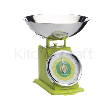Colourworks Green 3kg Mechanical Scales