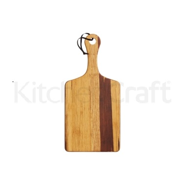 MasterClass Gourmet Prep & Serve Medium Bamboo Paddle Board
