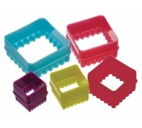 Colourworks Set of 5 Square Cookie Cutters
