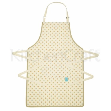Classic Collection Cotton Polka Patterned Apron