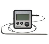 KitchenCraft Digital Cooking Thermometer and Timer