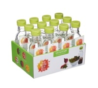 Kitchen Craft Display of 12 Salad Dressing Recipe Bottles