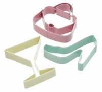 Sweetly Does It Set of 3 Glamourous Cookie Cutters