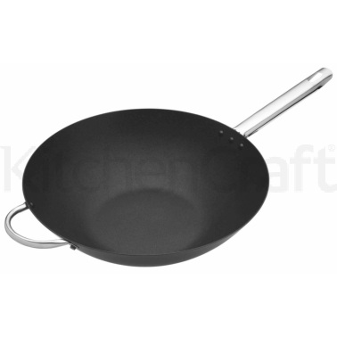 Master Class Professional Carbon Steel 35.5cm Wok