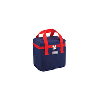 KitchenCraft Lunch Navy and Red 5 Litre Cool Bag