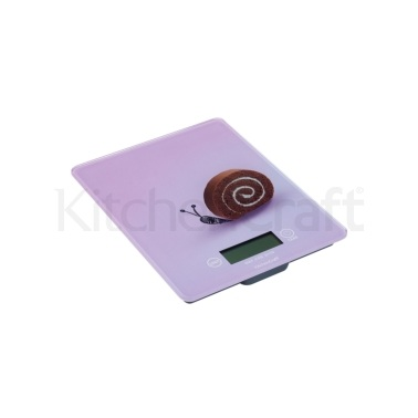 Kitchen Craft Electronic Snail Design Add'n'Weigh 5kg / 11lb Platform Scales