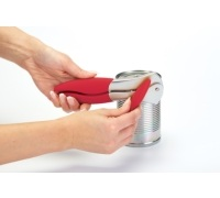 Colourworks Red Can Opener with Soft Touch Handle