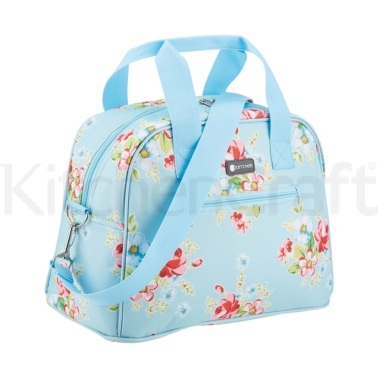 Coolmovers 11.5 Litre Floral Chintz Holdall Style Cool Bag