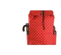 KitchenCraft Red Polka Dot Shopping Trolley
