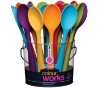 Colourworks Mini Silicone Deep Spoon