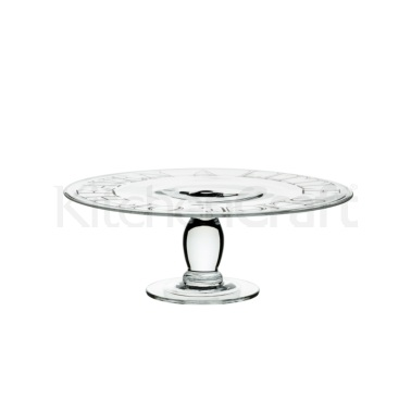 Artesà Glass Footed Cake Stand