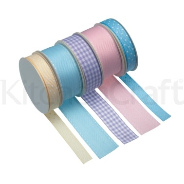 Sweetly Does It Pack of 5 Assorted Pastel Ribbons