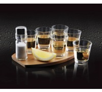 BarCraft Eight Piece Tequila Shot Gift Set