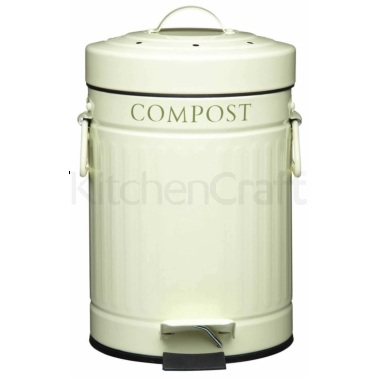 Kitchen Craft Compost Pedal Bin