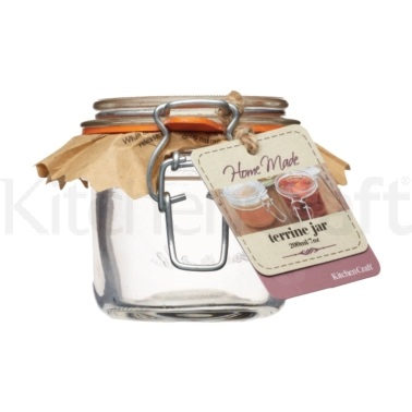 Bocal terrine en verre 200 ml