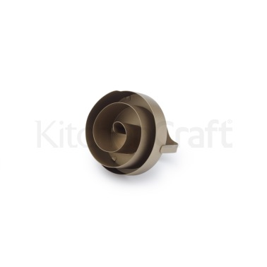 Paul Hollywood Stainless Steel Swirl Pattern Bread Stamp
