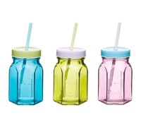 Coolmovers Wishful 250ml Glass Drinks Jar